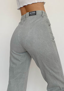 Gray Easy Rider Jeans