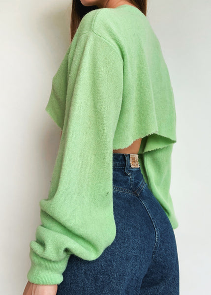 Lime Lacoste Cardi