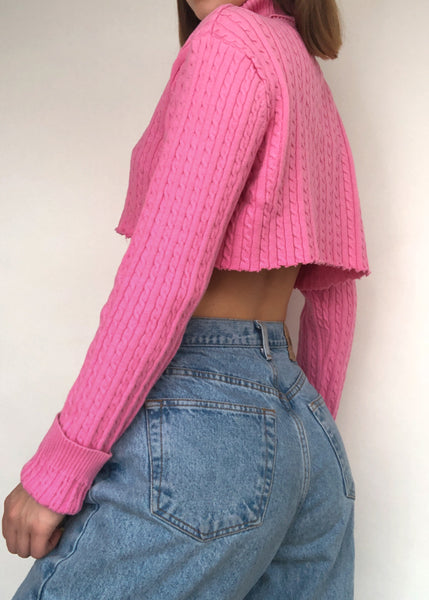 Bubblegum Turtleneck