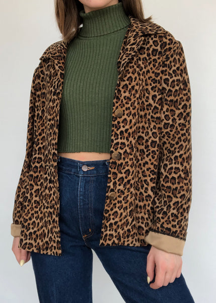 Cheetah Overcoat
