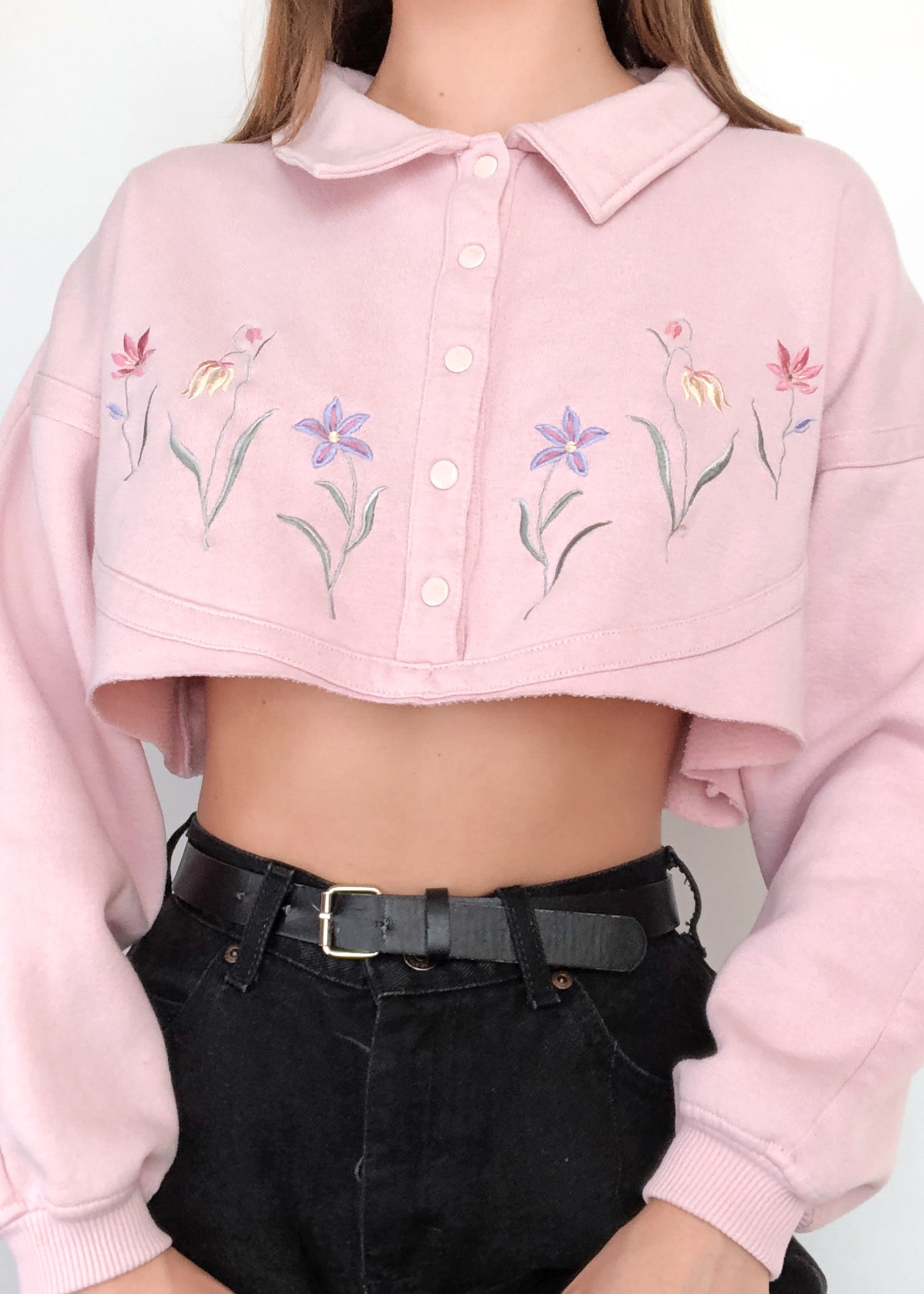 90's WIldflower Pullover