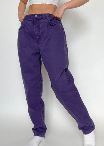 Purple Gitano Jeans
