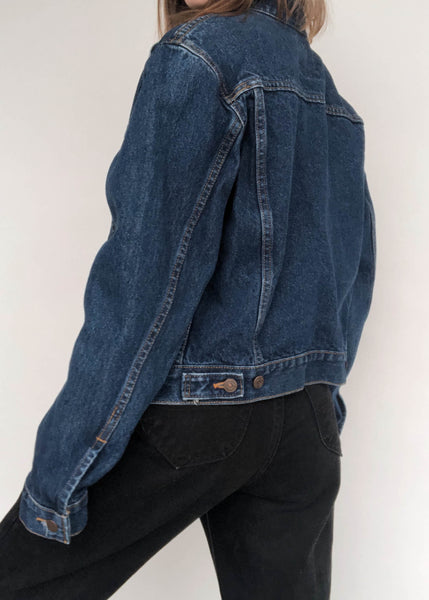 Levi's Dark Wash Trucker Jacket