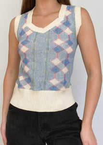 Williams Argyle Vest