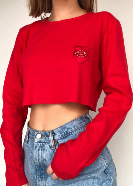 Cherry Harley Long Sleeve
