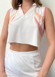 Peaches Polo Tank