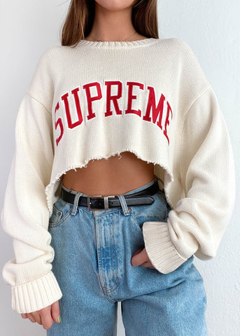 Supreme Varsity Sweater