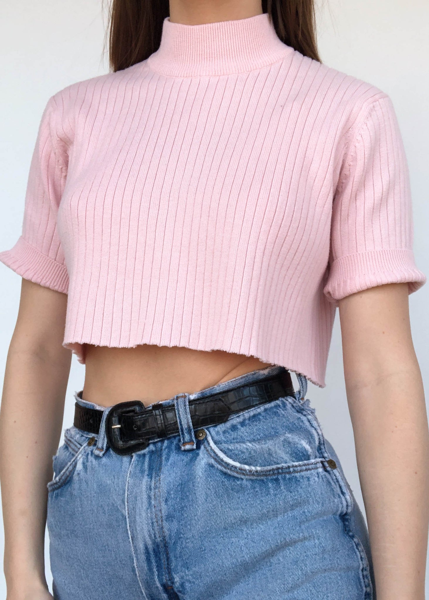 Clarissa Mock Neck