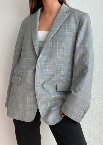 Billie Plaid Blazer