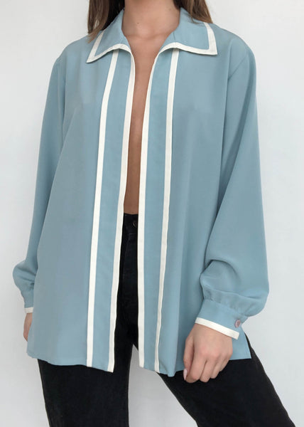 Suzie Blues Blouse