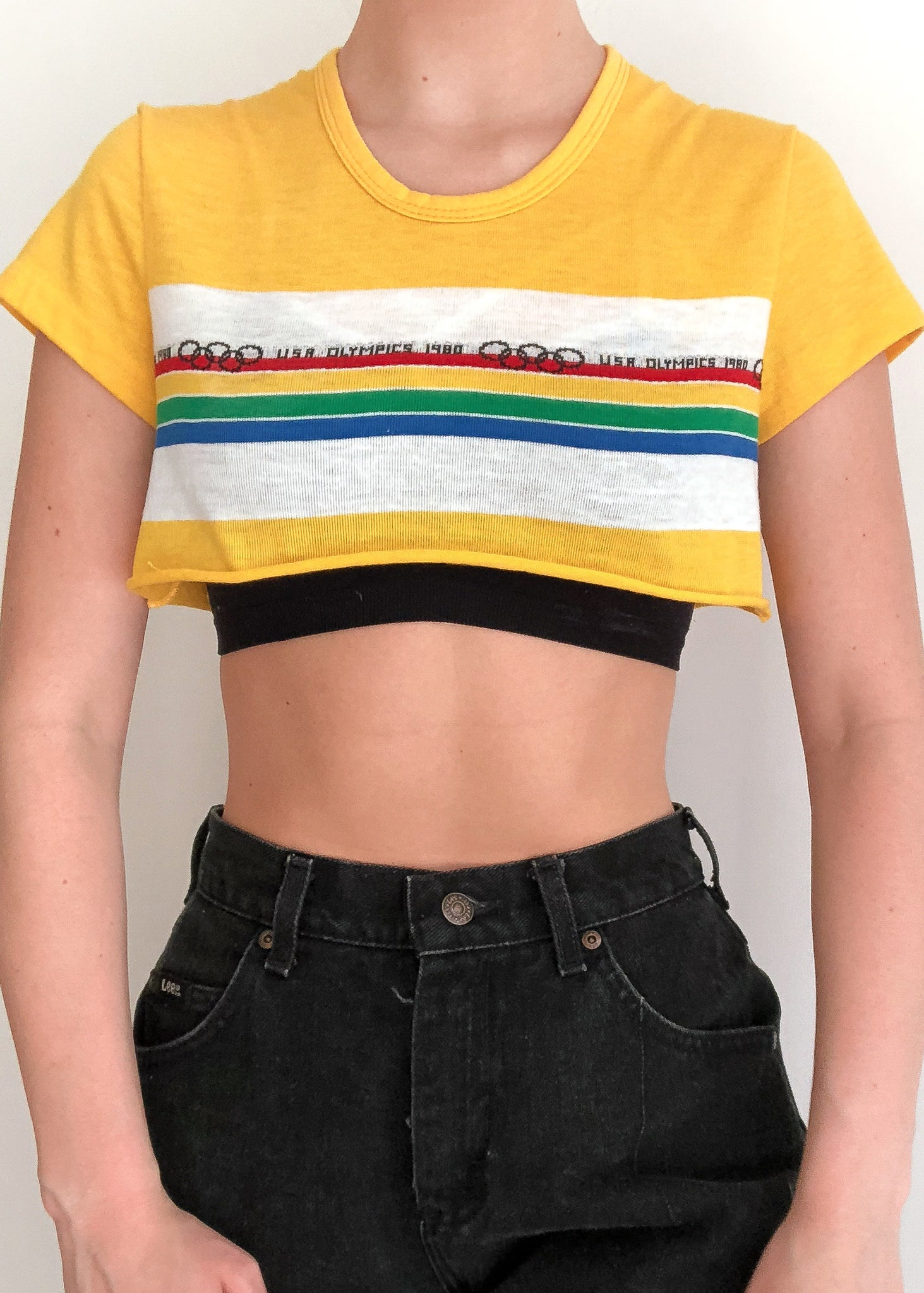 Levi's Olympic Crop