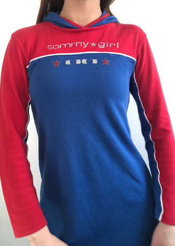 Tommy Girl Hoodie Dress