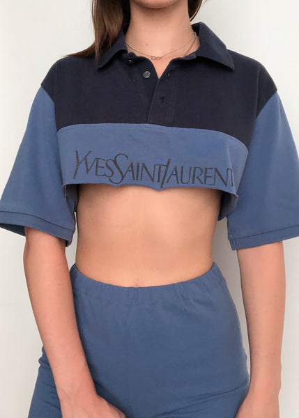 Navy Blue YSL Set