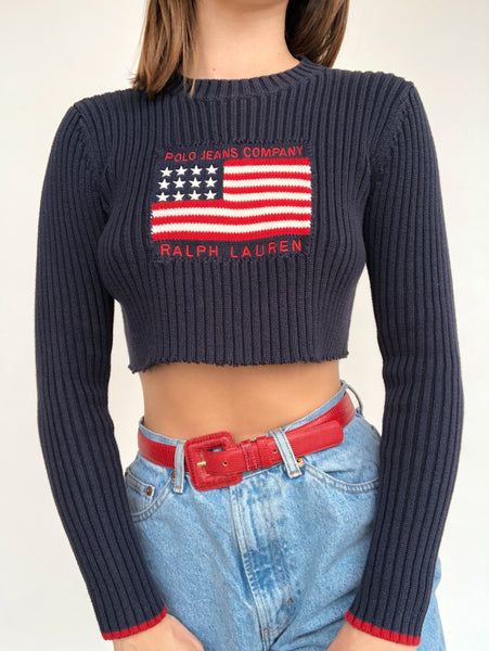 RL Flag Sweater