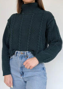 Deep Teal Knit