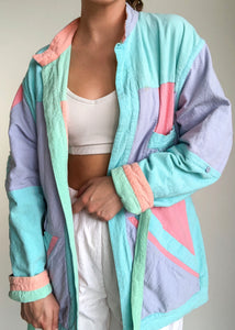 Pastel Dreams Reversible Coat