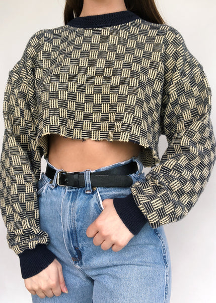 Ian Crop Sweater