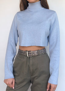Ice Blue Sweater