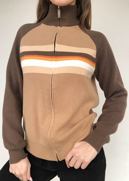 Peanut Butter Zip-Up