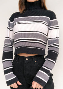 Eloise Stripe Turtleneck