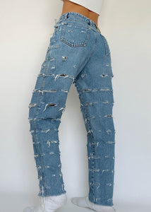 LizWear Distressed Jeans