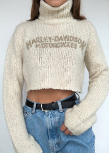Cream Harley Turtleneck
