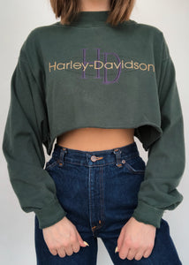 Forest Harley Mock Neck