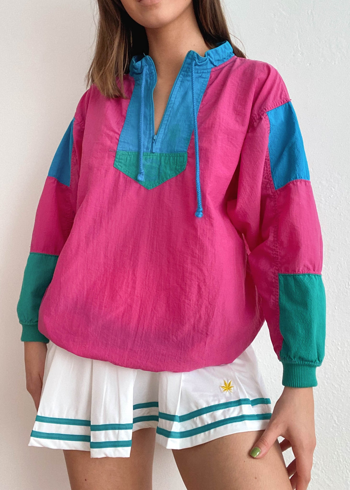 Kimmy 80's Windbreaker