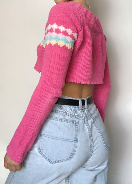 Cameron Cropped Sweater