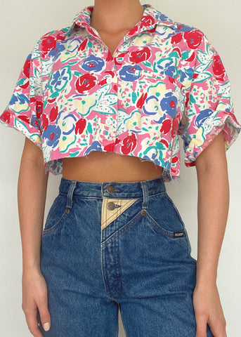 Rayna 80's Button Down
