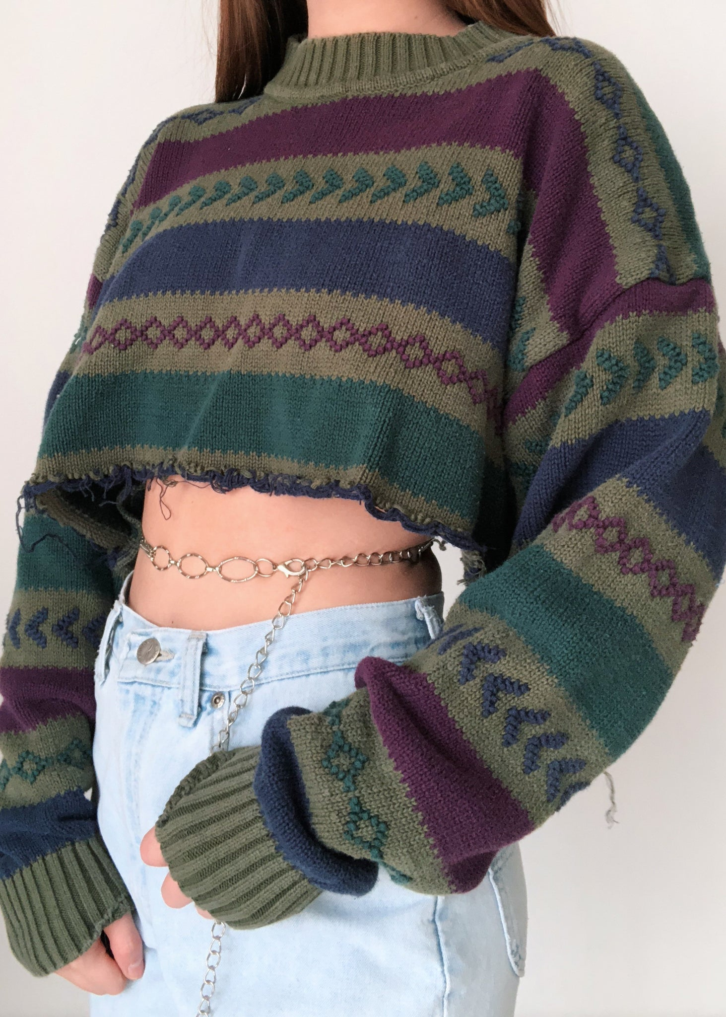 Muted Tread Sweater