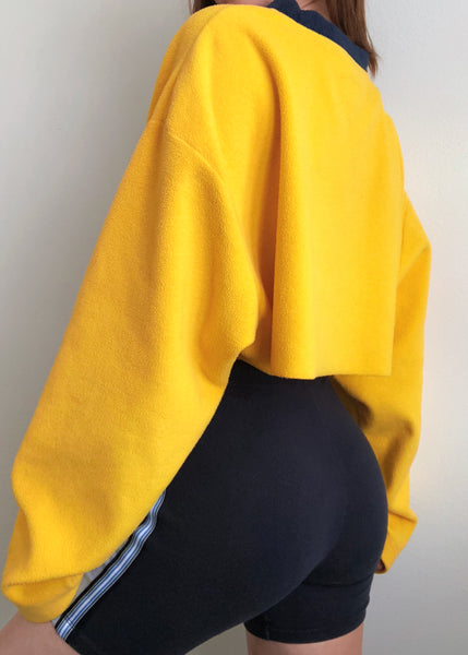 Yellow Tommy Fleece