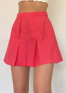 Rhubarb Tennis Skirt