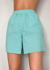 Tracy Grid Shorts