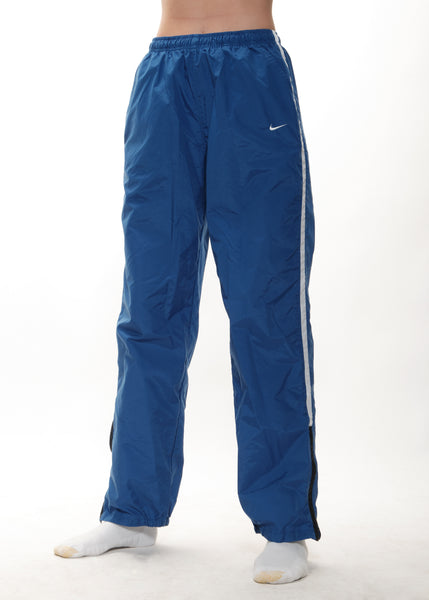 Blue Nike Zip Trackies