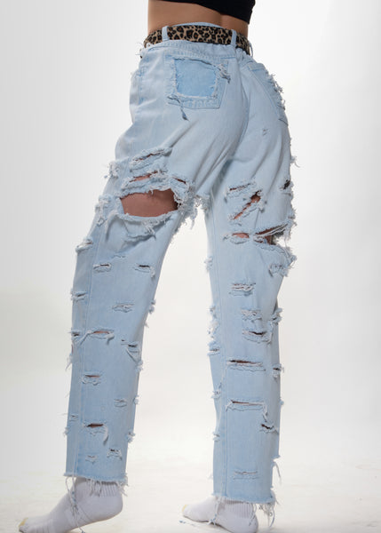 Ultra Light Shred Jeans