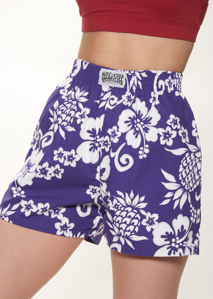 Island Style Patterned Shorts