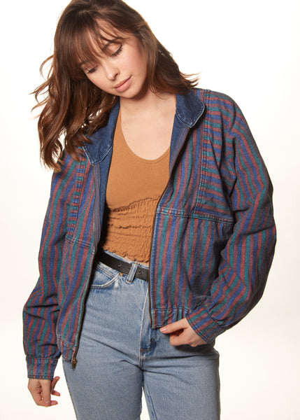 Tiger Stripe Reversible Jacket