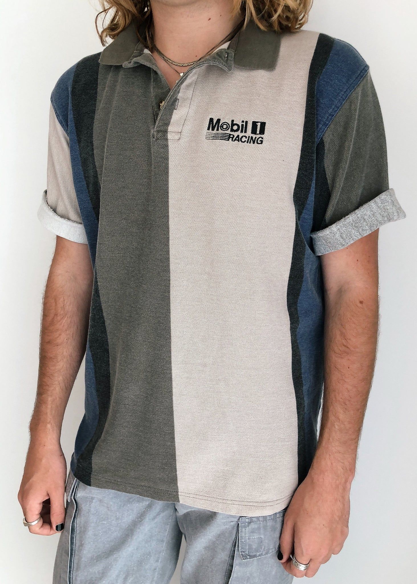 Mobil 1 Faded Polo