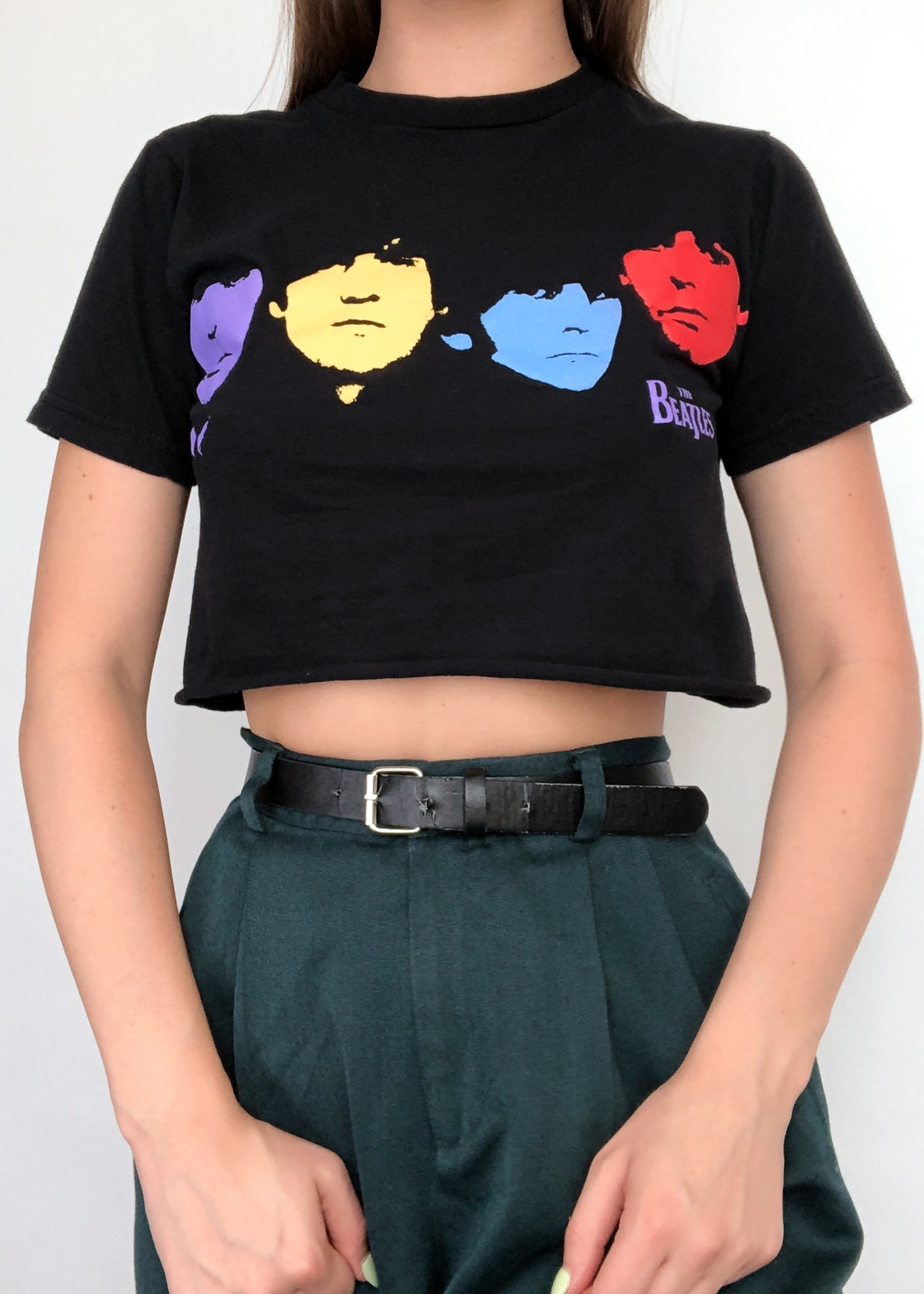 Beatles Crop Tee