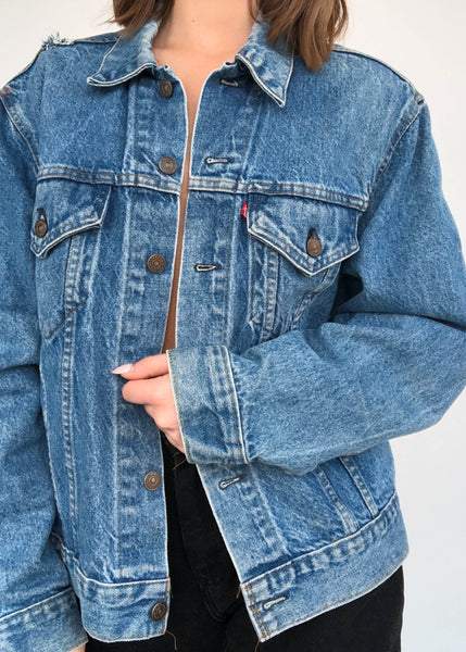Levi's Mid Wash Trucker Jacket