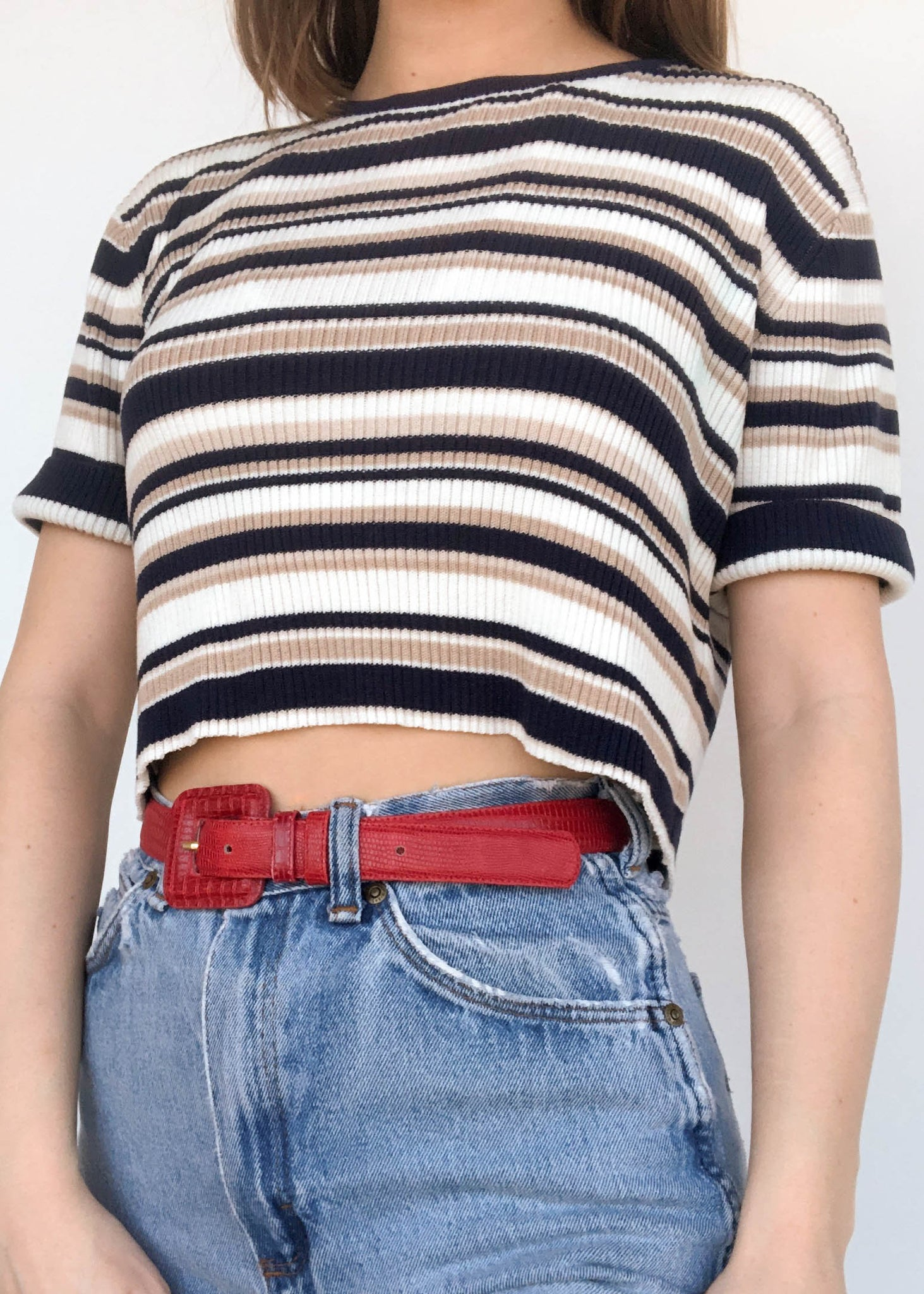 Maggie Striped Tee