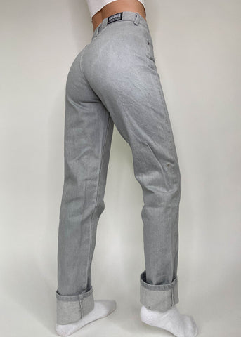 Gray Roughrider Jeans