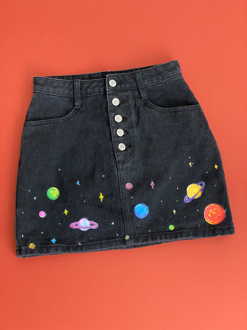 Custom Galaxy Skirt