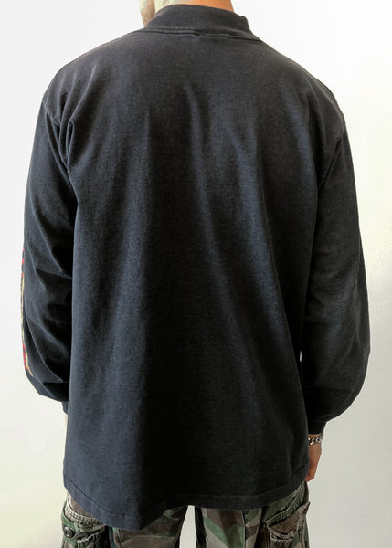 Slate Harley Mock Neck