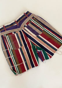 Maeve Striped Shorts