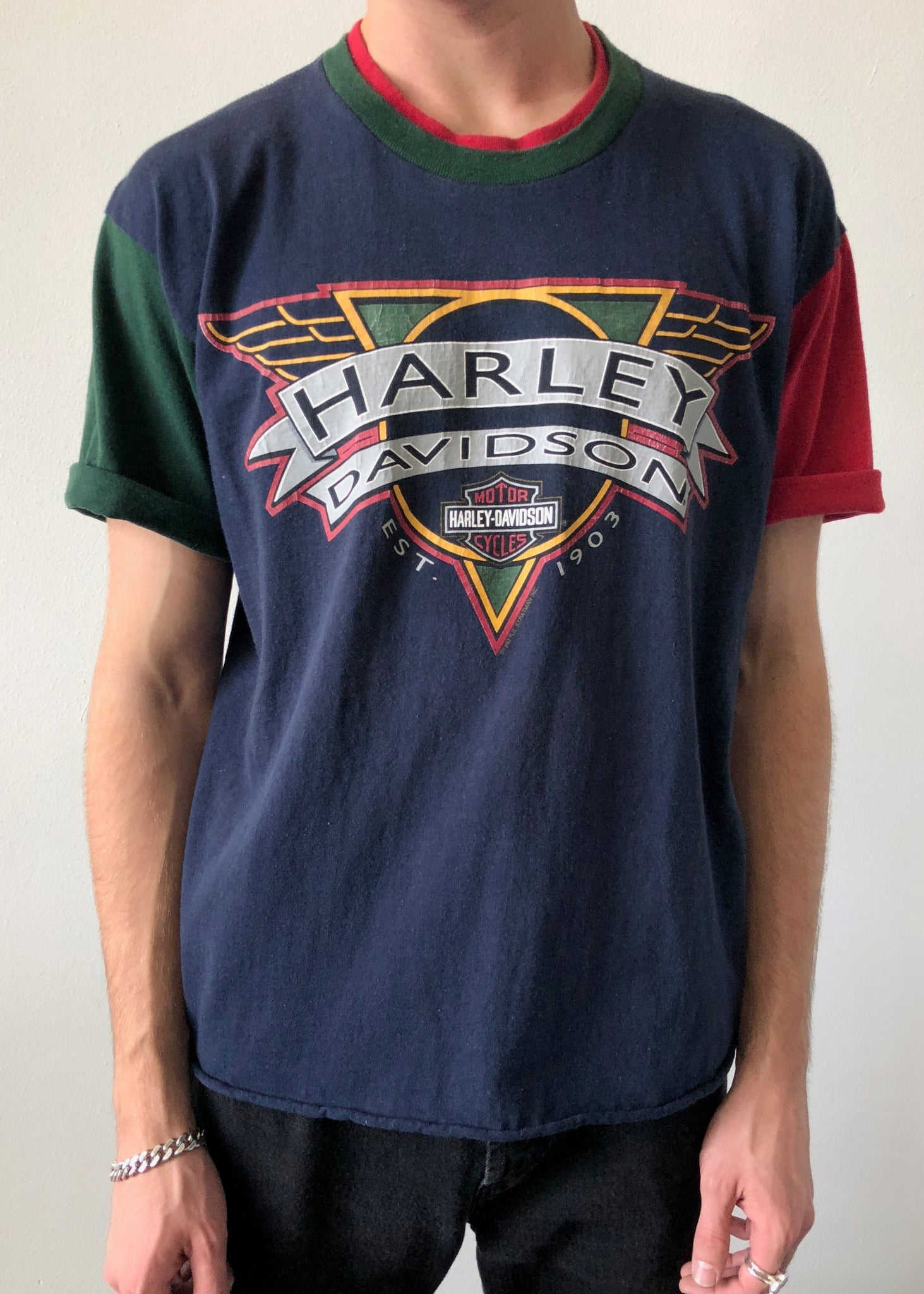 Harley Colorblock Tee