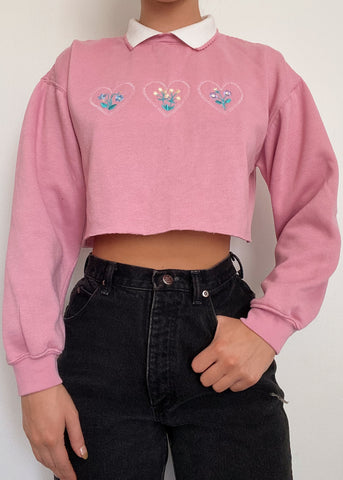 Ellie Collared Crewneck
