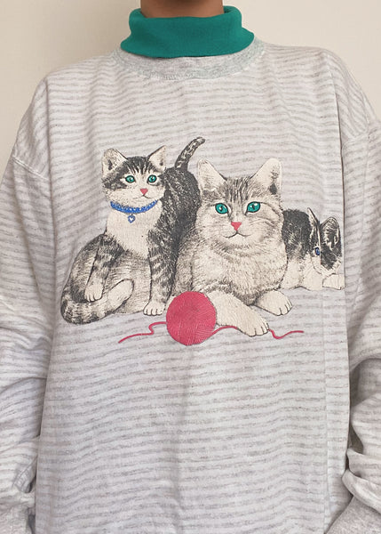 80's Kitten Turtleneck