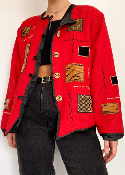 Sami Patchwork Jacket
